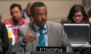Gebru Jember Endalew at COP23