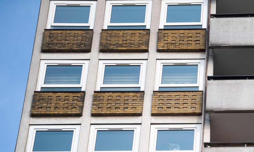 tower block in London