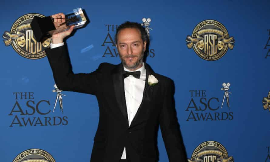 Emmanuel Lubezki said of filming The Revenant: 'From my perspective, it was an amazing experience.'