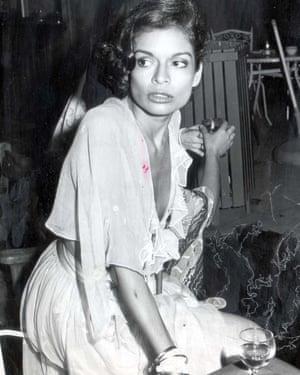 Bianca Jagger.