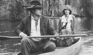 Rip Torn and Mary Steenburgen in Cross Creek, 1983