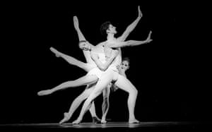 Darcey Bussell, Jonathan Cope, Deborah Bull in Apollo part of the Mixed Programme