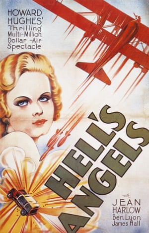 Plane fanatic Howard Hughes directed 1930's Hell's Angels, during which two pilots died.