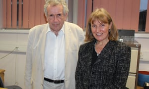 Martin Bell and consultant oral and maxillofacial surgeon Helen Witherow