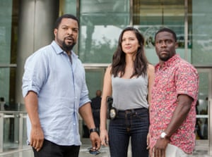 Ice Cube, Olivia Munn and Kevin Hart in Ride Along 2