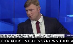 Blair Cottrell on Sky News