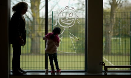 Vulnerable children are more at risk during the lockdown.