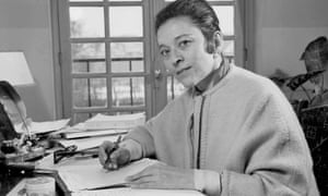 'For me, fashion has never been frivolous': Edmonde Charles-Roux at her desk, 1950.