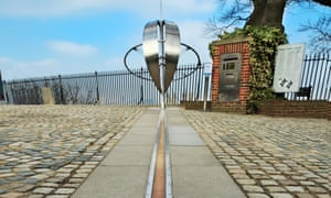 The Greenwich Meridian line