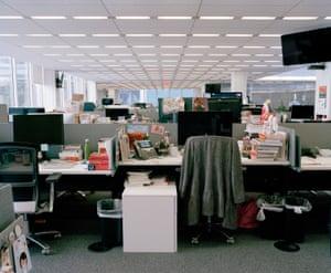Inside the New York Times newsroom, NY 2018