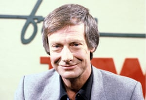 Norman on the set of 'Live from Two' TV programme in 1981