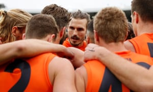Phil Davis and the GWS Giants