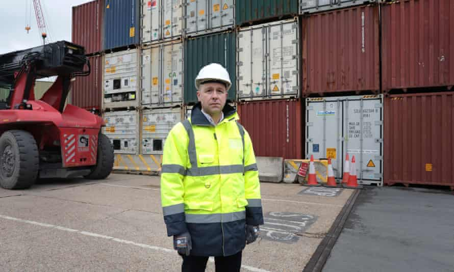 Mike Sellers, director at Portsmouth Port.
