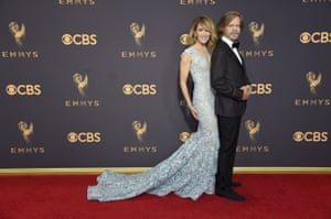 Felicity Huffman and William H Macy.