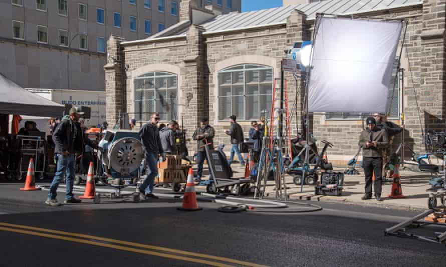 A film crew