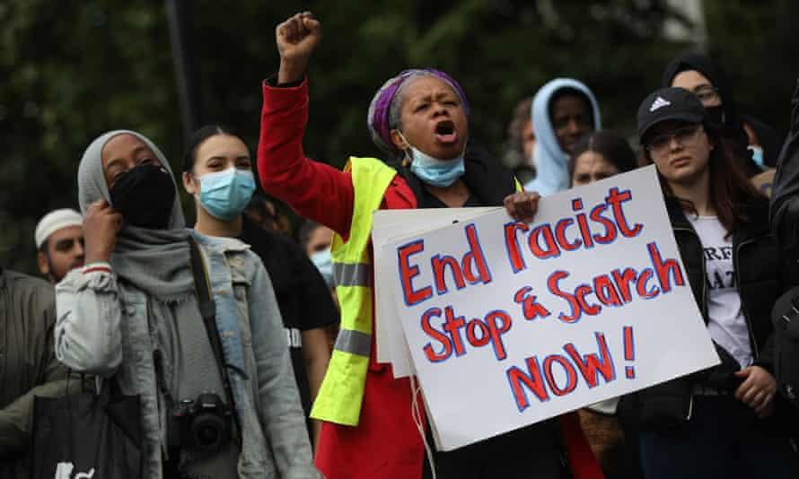 Black Lives Matter protest, London, June 2020.