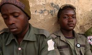 A pair of Boko Haram hunters