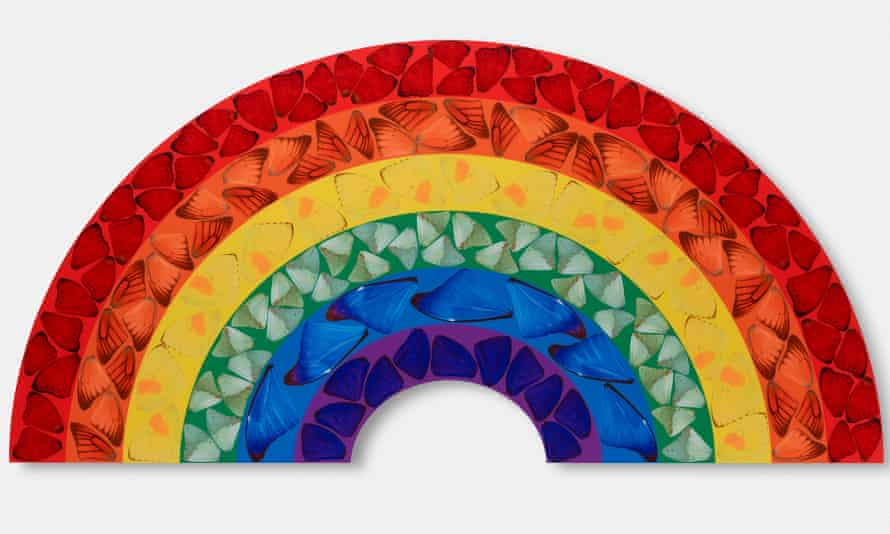 A Butterfly Rainbow limited edition print
