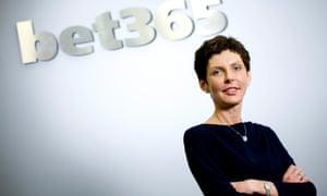 Denise Coates, head of Bet365.