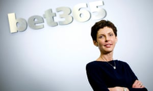 Founder and boss of the gambling firm Bet365, Denise Coates