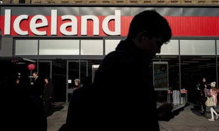 the new look Iceland store front