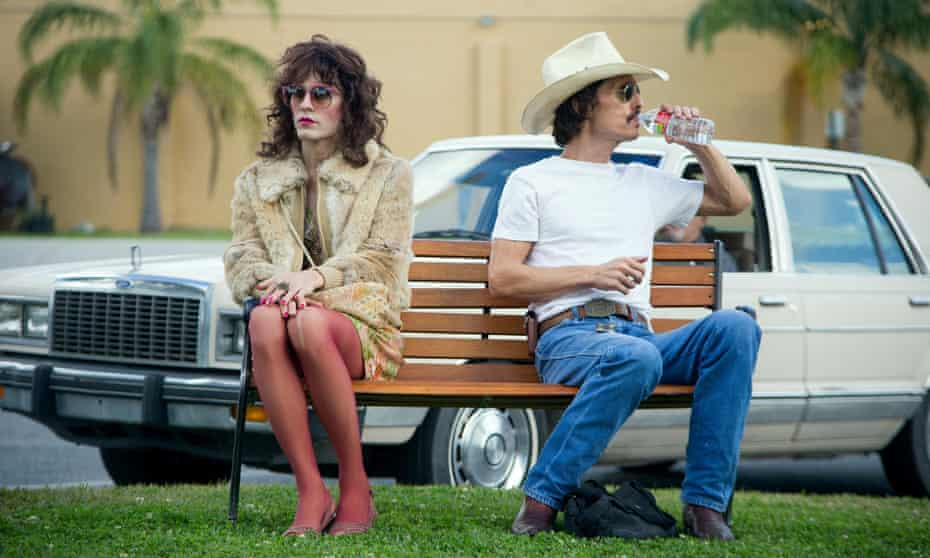 Jared Leto and Matthew McConaughey in the 2013 film Dallas Buyers Club.