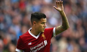 Philippe Coutinho signed for Liverpool from Internazionale in 2013.