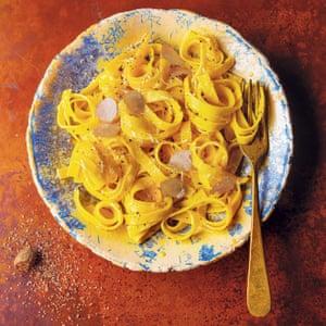 Claudia Roden's tagliatelle with white truffles