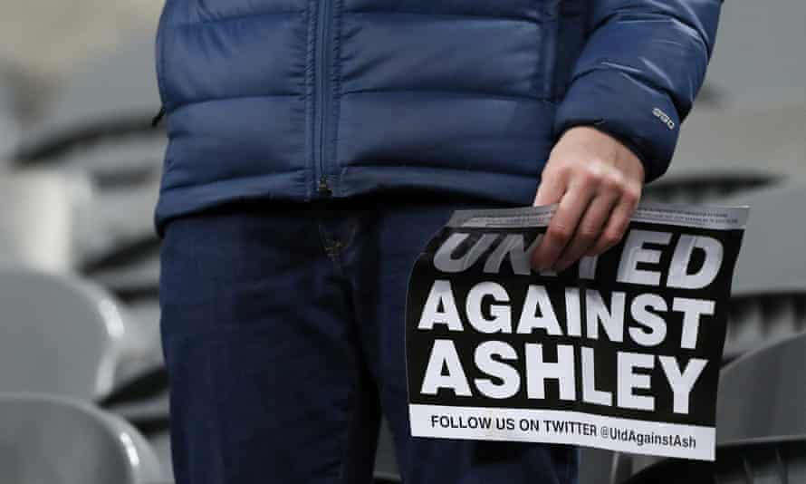 Newcastle fans have regularly protested against Mike Ashley's ownership of the club