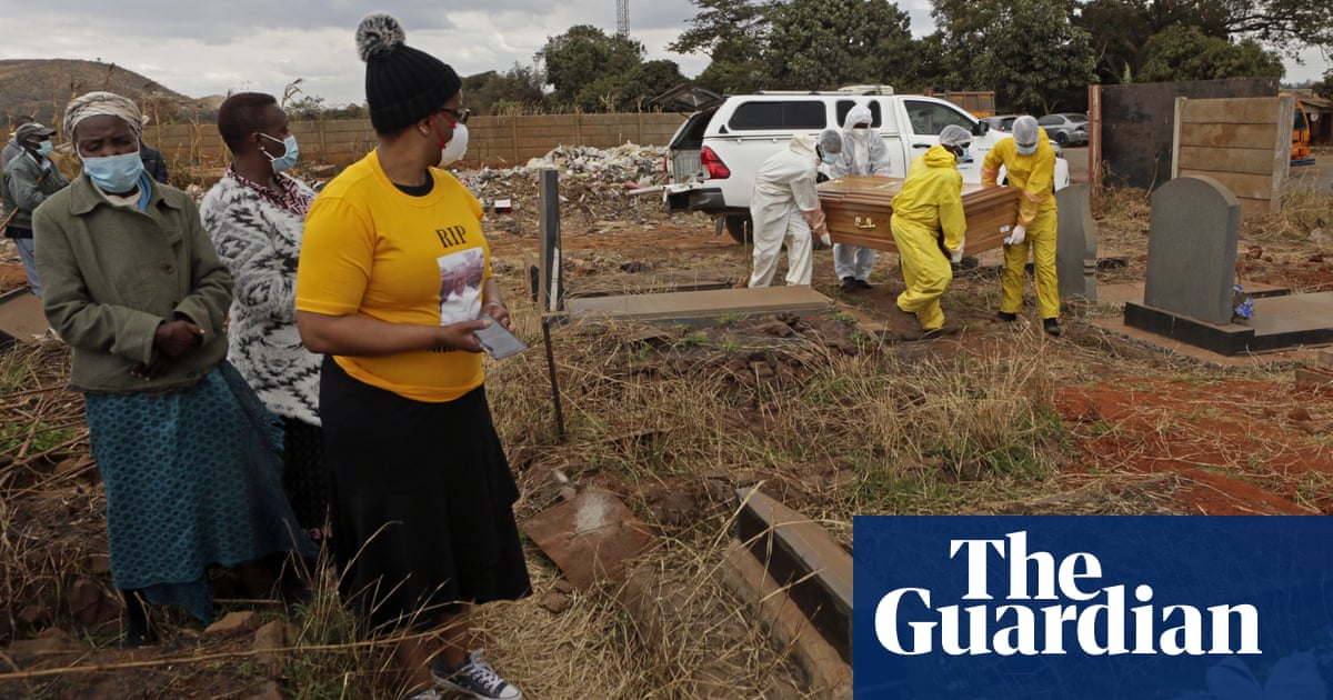 'Our morgues are full': Zimbabwe struggles with surge in Covid burials
