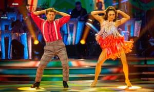 Mike Bushell and Katya Jones on Strictly Come Dancing