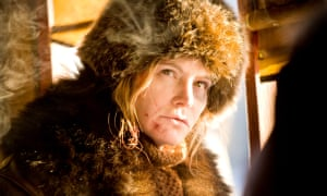 Jennifer Jason Leigh in The Hateful Eight.