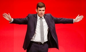 Andy Burnham spoke on the final day of the Labour conference last year, announcing he was leaving the shadow cabinet to focus on his mayoral bid.