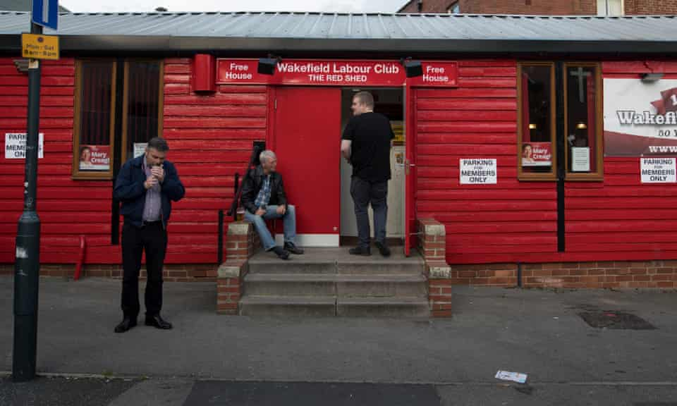 The Wakefield Labour Club, also known as The Red Shed, june 2017