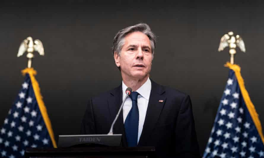 US secretary of state Anthony Blinken said Pacific countries should be able to make choices 'without fear of retribution'.