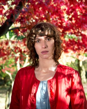 Singer-songwriter Aldous Harding, photographed in Roath Park, Cardiff.