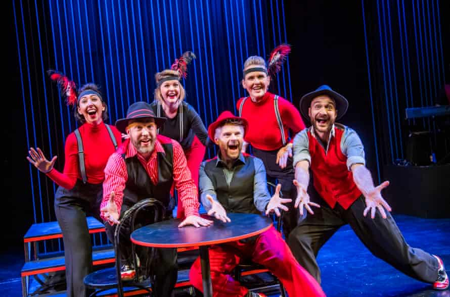 Showstopper! The Improvised Musical at the Other Palace, London.