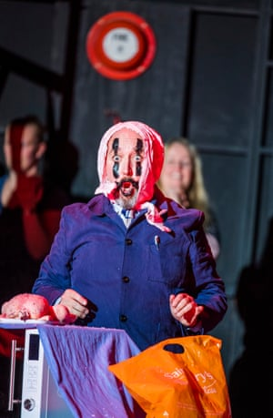 Richard Burkhard in Pagliacci by Opera North at the Grand, Leeds