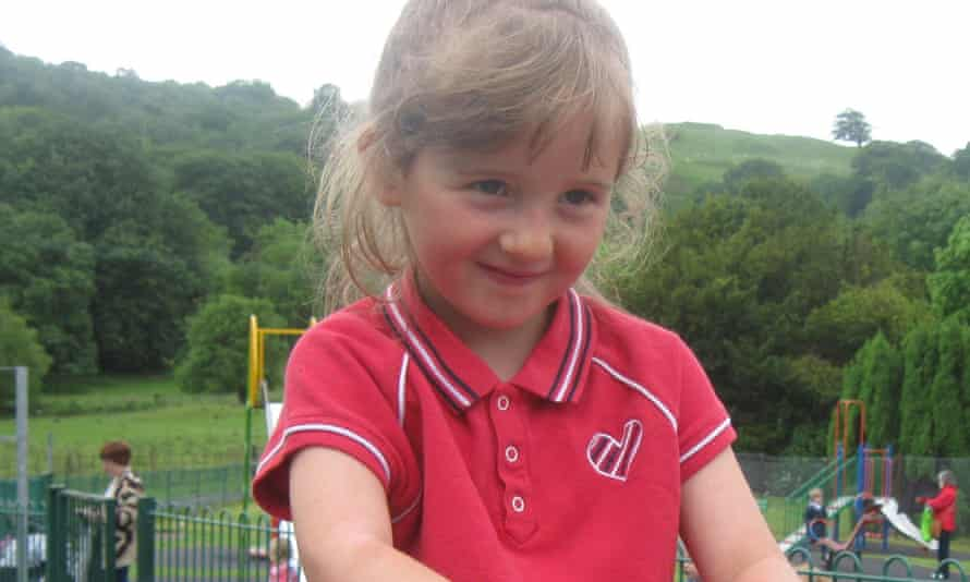 April Jones, abducted and murdered in the Welsh town of Machynlleth