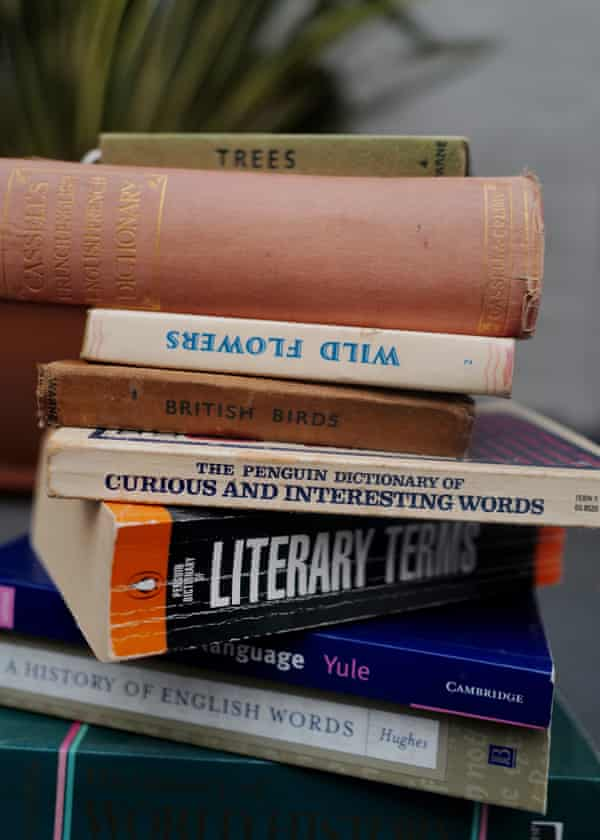 Some of Laura Barton's many reference books