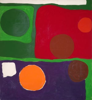 Patrick Heron Five Discs : 1963 1963 Oil paint on canvas Private collection