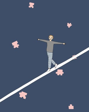 'Life is a balancing act', from Ruby Jones' All of This is For You.