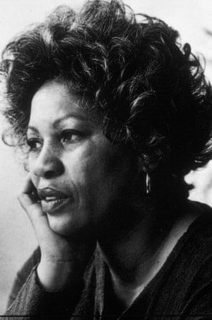 Toni Morrison photographed in 1977. She was born in Lorain, Ohio in 1931