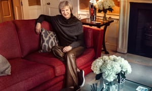 The prime minister was interrogated after it emerged she wore the expensive trousers and a pair of £295 Burberry trainers when photographed by the Sunday Times last month.