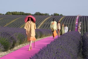 Provence, FranceModels on the catwalk Jacquemus co-ed show, Runway, Spring Summer 2020