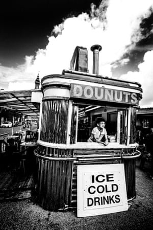 Doughnut stand in Blackpool