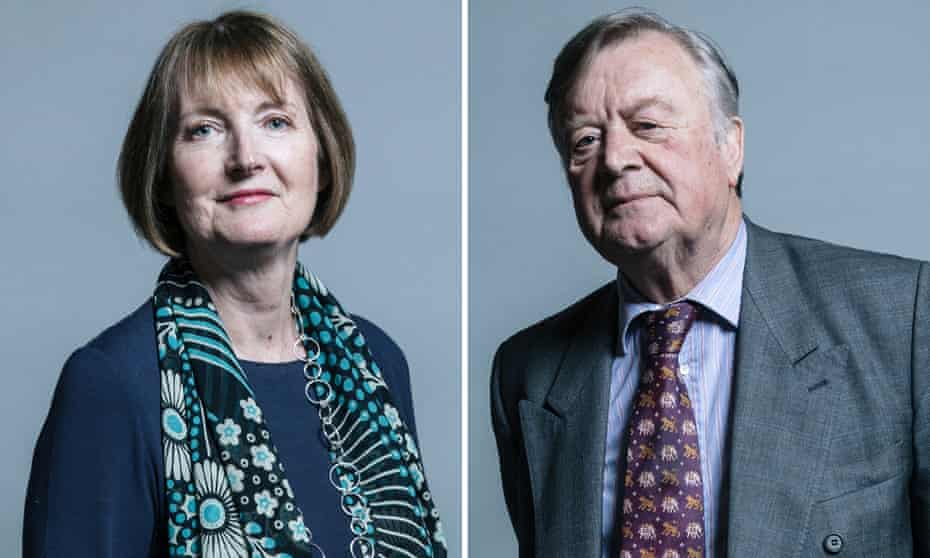 The Lib Dem leader argued that opposition parties should join behind a figure such as Kenneth Clarke, the veteran Tory, or Labour's Harriet Harman.