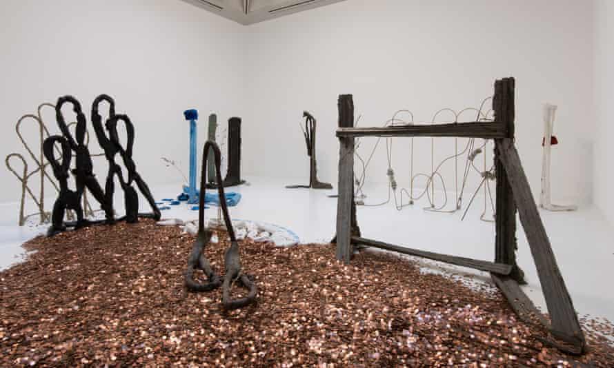 Michael Dean's United Kingdom Poverty Line installation.