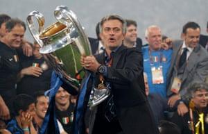 Zé Maria shadowed José Mourinho during the 2009-10 season, when Inter won the treble.