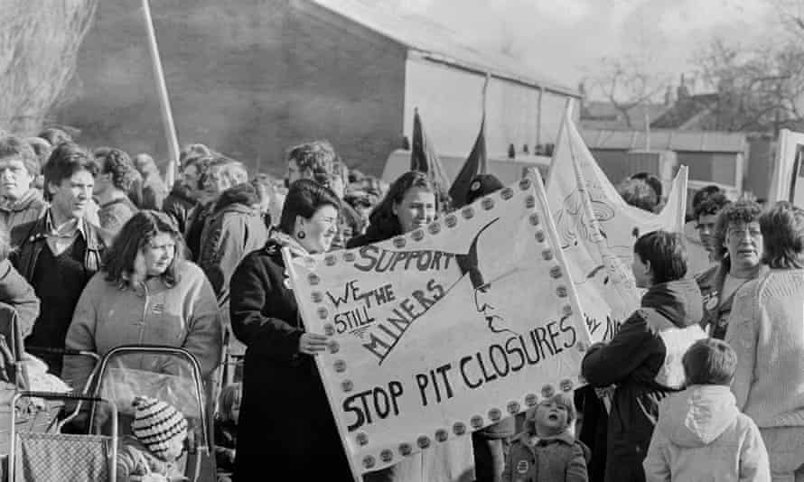 The end of the miners' strike in 1985.